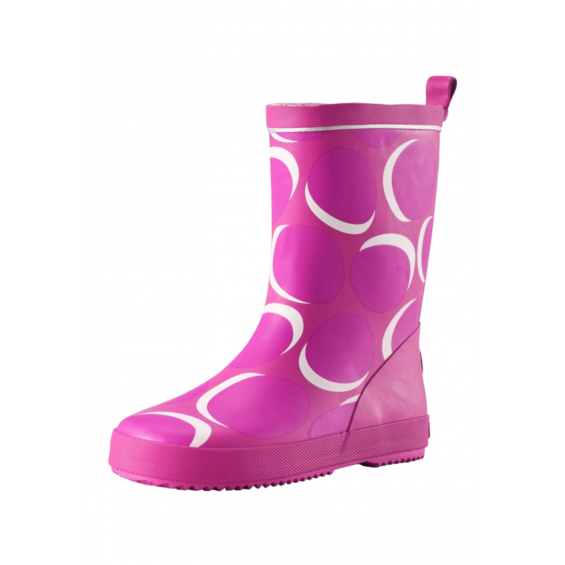 Резиновые сапогиРезиновые сапоги розовогоцвета марки Reima для девочек.Сапоги украшены узором, дополнены мягкой текстильной подкладкой, имеют съемные стельки. Светоотражающие детали обеспечивают безопасность в темное время суток.<br><br>Размер: 30<br>Цвет: Розовый<br>Пол: Для девочки<br>Артикул: 638162<br>Бренд: Финляндия<br>Страна производитель: Китай<br>Сезон: Весна/Лето<br>Материал верха: Резина<br>Материал подкладки: Текстиль<br>Материал стельки: Текстиль<br>Материал подошвы: Резина<br>Коллекция: 2016<br>Тип: Демисезон