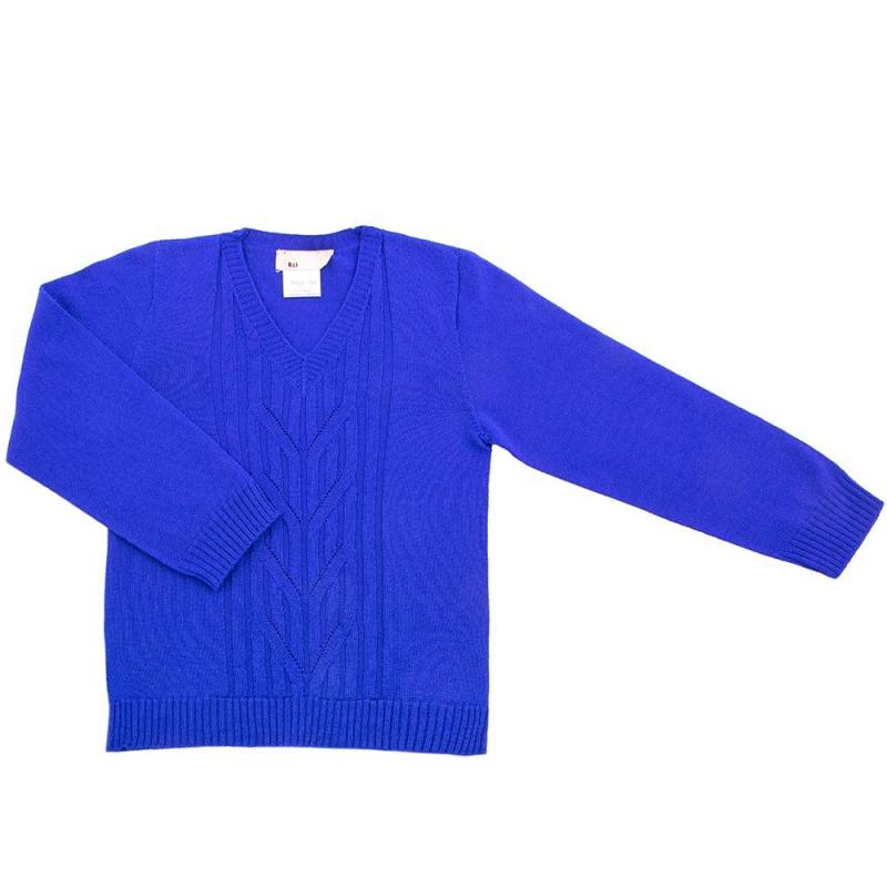 КофтаКофта синегоцвета марки R&amp;I для мальчиков.<br>Сделанная из натуральной шерсти мериноса, она обеспечивает идеальный теплообмен, благодаря чему ребенок не перегреется и не переохладится.Стильная и теплая кофта с V-образным вырезом создана для того, чтобы малыш даже в холода отлично выглядел и чувствовал себя комфортно.<br>Модельсмотрится нарядно благодаря интересной вязке. Помимо этого уход за изделиемне вызывает затруднений.<br>Состав: 100% шерсть тонкорунного мериноса.<br><br>Размер: 5 лет<br>Цвет: Синий<br>Рост: 110<br>Пол: Для мальчика<br>Артикул: 637918<br>Страна производитель: Киргизия<br>Сезон: Осень/Зима<br>Состав: 100% Шерсть<br>Бренд: Киргизия