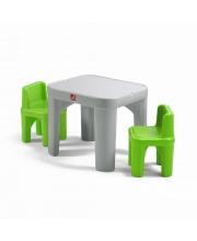 Столик с двумя стульями STEP 2