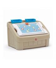 Ящик для игрушек Два в одном STEP 2