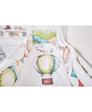 Комплект в кроватку 6 предметов Воздушные шары Топотушки
