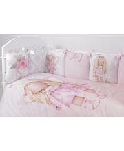 Комплект в кроватку 6 предметов Принцесса Фей