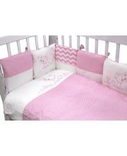 Комплект в кроватку 6 предметов Гав-Гав