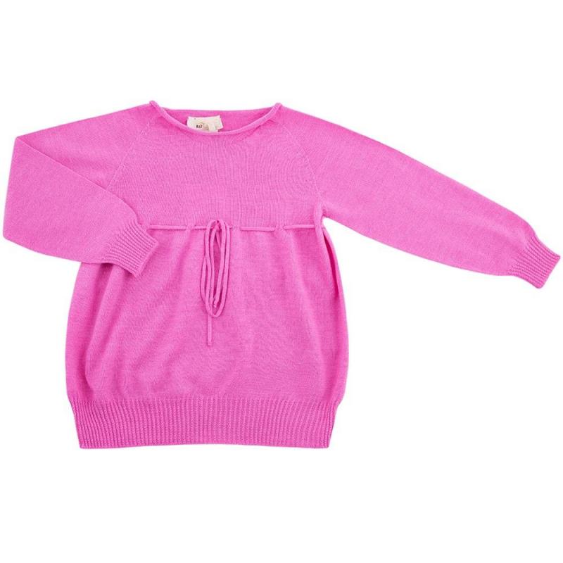 КофтаКофта розовогоцвета марки R&amp;I длядевочек.<br>Вашей малышке обязательно придется по душе кофта свободного кроя из коллекции торговой марки R&amp;I. Кофта выполнена из шерсти тонкорунного мериноса, она является теплой и мягкой. Красоваться осенью или зимой в таком наряде – настоящее удовольствие, и маленькая модница обязательно оценит это.<br>Джемпер с длинными свободными рукавами представлен в насыщенном розовом цвете. Кофту можно легко комбинировать с другими вещами из детского гардероба – брючками, юбочками, лосинами. Оригинальность изделию придает протянутый под грудью шнурок, которую завязывается на красивый бантик.<br>Состав: 100% шерсть тонкорунного мериноса.<br><br>Размер: 6 лет<br>Цвет: Розовый<br>Рост: 116<br>Пол: Для девочки<br>Артикул: 637824<br>Страна производитель: Киргизия<br>Сезон: Осень/Зима<br>Состав: 100% Шерсть<br>Бренд: Киргизия