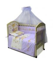Комплект в кроватку 7 предметов Детский Мир