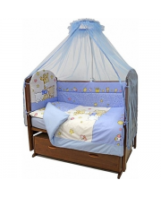Комплект в кроватку 7 предметов Детский Мир Топотушки