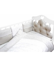Комплект в кроватку 6 предметов Облака
