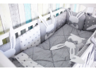 Комплект в кроватку 6 предметов Зайка