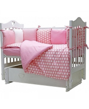 Комплект в кроватку 12 предметов 12 месяцев