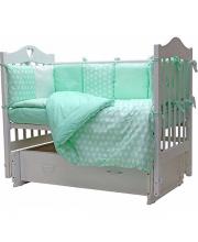 Комплект в кроватку 12 предметов 12 месяцев Топотушки