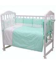 Комплект в кроватку 6 предметов Долли