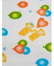 Клеенка детская в кроватку или коляску 0,5*0,7м Чудо-Чадо