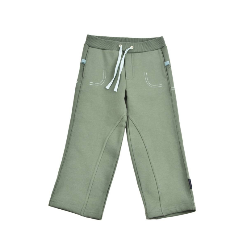 БрюкиБрюки зеленогоцвета маркиKOGANKIDS для мальчиков.<br>Брюки выполнены из чистого хлопка. Однотонная модель из плотного трикотажа с начесом, удобной широкой резинкой на поясе,манжетами икарманами. Декорирована строчкой голубого цвета.<br><br>Размер: 9 месяцев<br>Цвет: Зеленый<br>Рост: 74<br>Пол: Для мальчика<br>Артикул: 637151<br>Страна производитель: Узбекистан<br>Сезон: Всесезонный<br>Состав: 100% Хлопок<br>Бренд: Россия