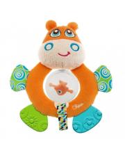 Игрушка-погремушка Бегемот Hippo Chicco