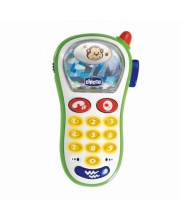 Игрушка Музыкальный телефон с фотокамерой Chicco