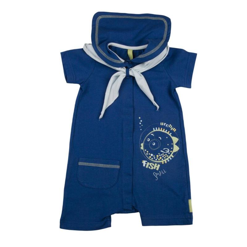 ПесочникПесочник синегоцвета марки KOGANKIDSдля мальчиков. Песочник выполнен из стопроцентного хлопка, дополнен воротничком с отворотом и галстучком голубогоцвета. Песочник украшен принтами в морской тематике и имеет карман на поясе.<br><br>Размер: 12 месяцев<br>Цвет: Синий<br>Рост: 80<br>Пол: Для мальчика<br>Артикул: 637430<br>Страна производитель: Узбекистан<br>Сезон: Всесезонный<br>Состав: 100% Хлопок<br>Бренд: Россия