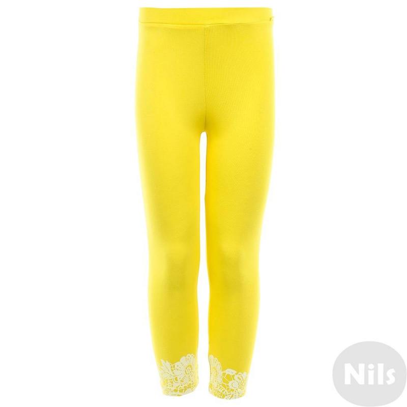 ЛеггинсыЛеггинсы желтогоцвета маркиKOGANKIDS.<br>Леггинсы выполнены из хлопка с добавлением эластанаи декорированы нежным цветочным узором белого цвета.<br><br>Размер: 6 лет<br>Цвет: Желтый<br>Рост: 116<br>Пол: Для девочки<br>Артикул: 637331<br>Страна производитель: Узбекистан<br>Сезон: Весна/Лето<br>Состав: 92% Хлопок, 8% Эластан<br>Бренд: Россия