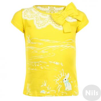 Девочки, Футболка KOGANKIDS (желтый)637298, фото