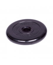Диск обрезиненный d 51 мм 5 кг Barbell