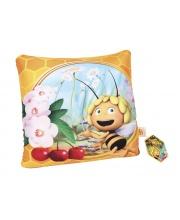 Подушка детская антистресс Пчелка Майя 30х30 Затейники