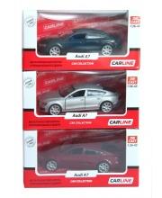 Машина Audi A7 металлическая в ассортименте Carline
