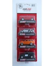 Машина 1:64 инерционная в ассортименте Carline