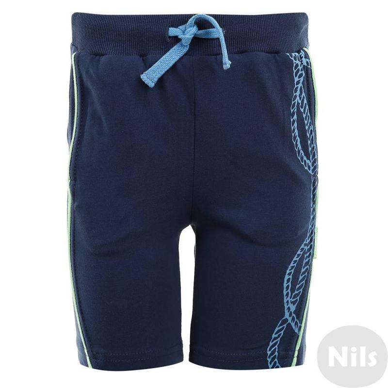 ШортыШорты темно-синего цвета марки KOGANKIDS для мальчиков. Шорты выполнены из хлопкового трикотажа с добавлением эластана, дополнены двумя карманами спереди, имеют удобную резинку на поясе, завязываются на шнурок. Шорты украшены принтом на морскую тематику.<br><br>Размер: 4 года<br>Цвет: Темносиний<br>Рост: 104<br>Пол: Для мальчика<br>Артикул: 637542<br>Страна производитель: Узбекистан<br>Сезон: Весна/Лето<br>Состав: 92% Хлопок, 8% Эластан<br>Бренд: Россия