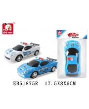 Машина полиция инерционная в ассортименте S+S Toys