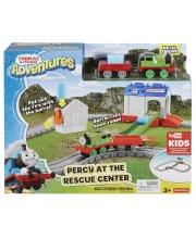 Железная дорога Перси в спасательном центре S+S Toys