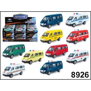 Игрушки, Машина 1:72 ГАЗЕЛЬв ассортименте S+S Toys 245368, фото