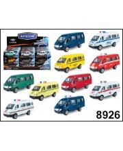 Машина 1:72 ГАЗЕЛЬв ассортименте S+S Toys