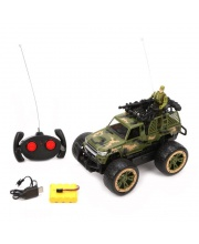 Радиоуправляемая машина Военная 4 канала Наша Игрушка