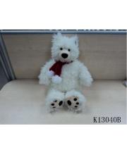 Медведь Полярный с шарфом 47 см PLUSH APPLE