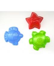 Набор песочный 3 формочки в ассортименте Игрушки Поволжья