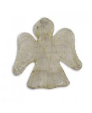 Шар Ангел 2 шт 9 см НОВЫЙ ГОД
