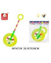 Каталка Колесо со светом S+S Toys
