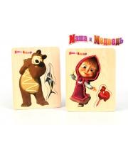 Шнуровка Маша и Медведь в ассортименте МАША И МЕДВЕДЬ