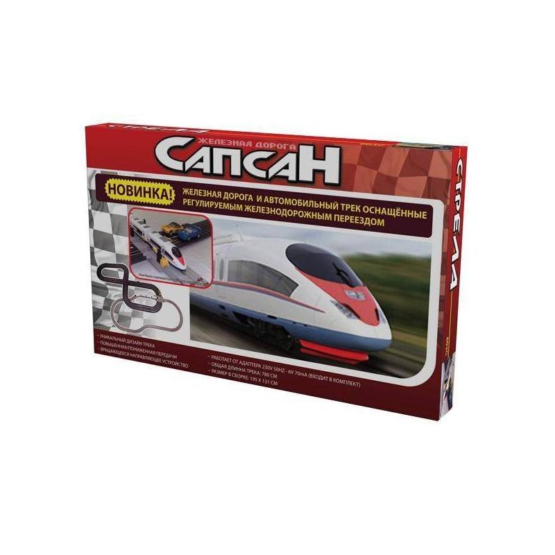 Racing Pro Железная дорога и автотрек Сапсан