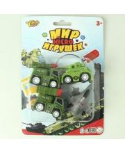 Игровой набор Военный инерц. в комплекте 4 предмета Наша Игрушка