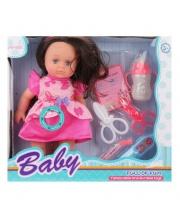 Кукла 27 см с аксес. 6 предметов Наша Игрушка