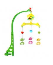 Мобиль на кроватку заводной Жирафы Наша Игрушка