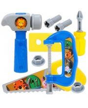 Набор инструментов предметов 7 шт Наша Игрушка