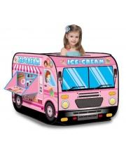 Палатка игровая Машина мороженого 70*70*110см Наша Игрушка