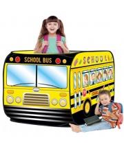 Палатка игровая Школьный автобус 72*72*112 см Наша Игрушка