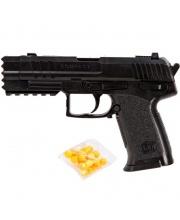 Пистолет мех. 190 мм Наша Игрушка