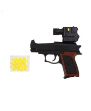 Пистолет мех. 125 мм Наша Игрушка
