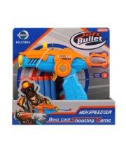 Пистолет с мягкими пулями Наша Игрушка