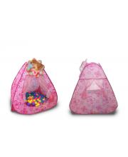 Палатка Принцесса с шариками