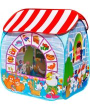 Игровой домик Детский магазин + 100 шариков
