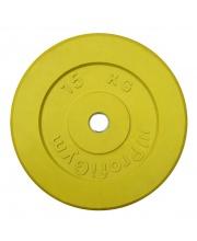 Диск обрезиненный d 31 мм 15 кг